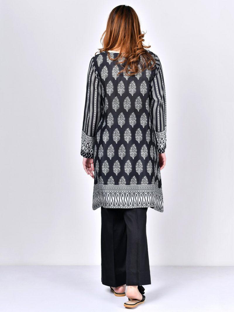 Limelight P1332 Black Embroidered Thai Silk Shirt Summer 2019