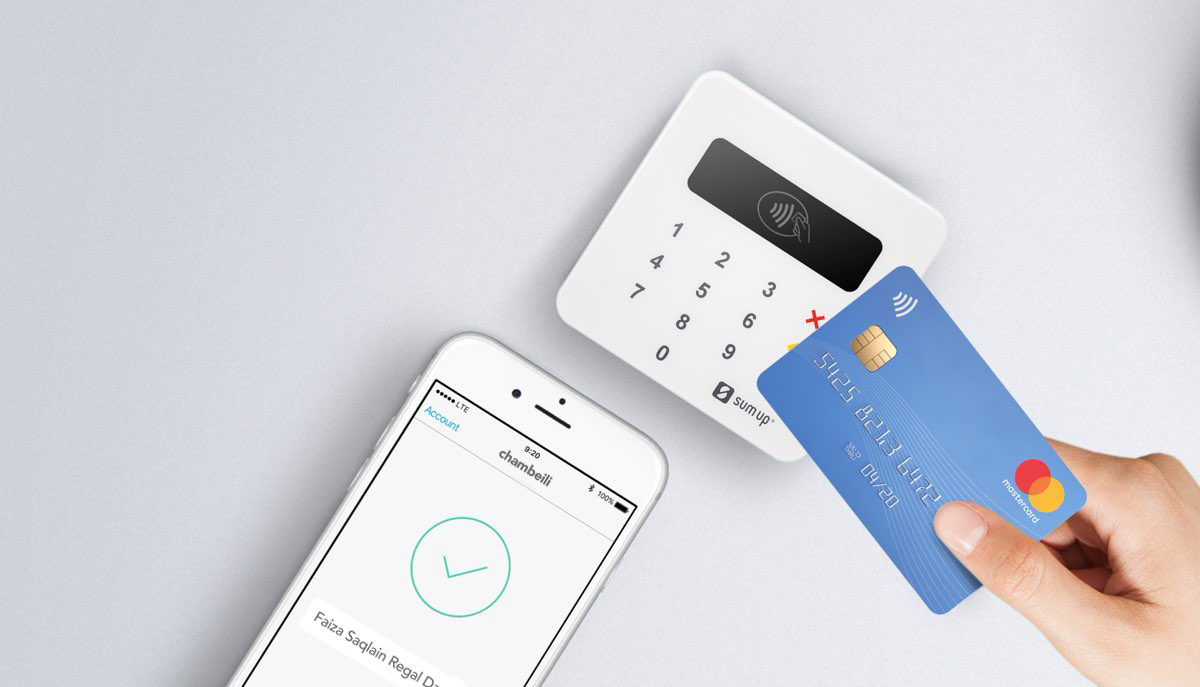 chambeili boutique payment terminal