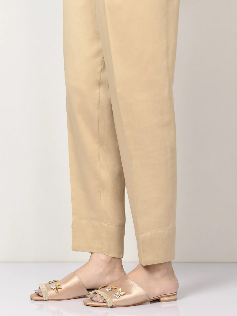 Limelight D0976 Dark Beige Winter Cotton Trousers AW19