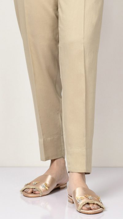 Limelight D0976 Beige Winter Cotton Trousers AW19