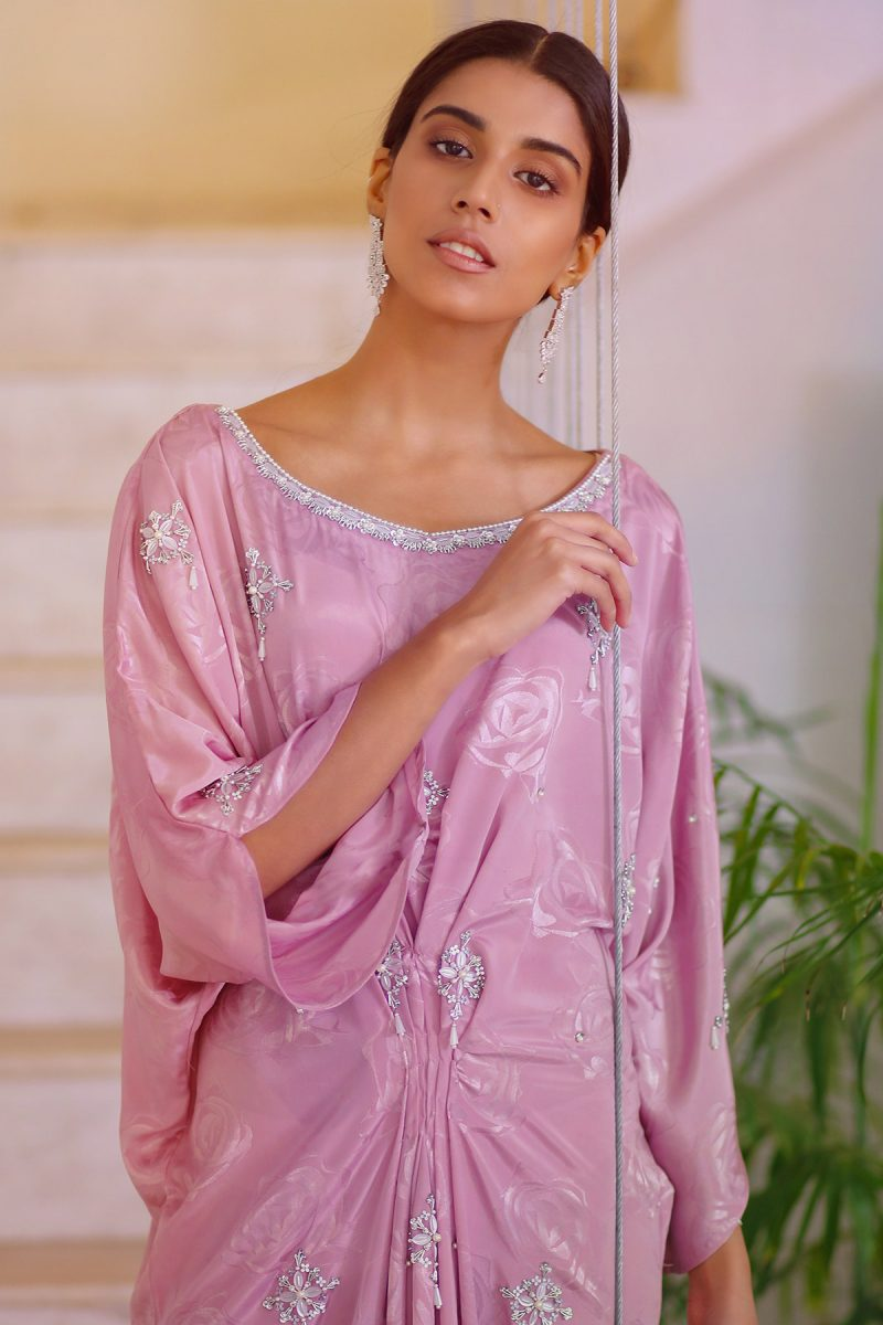 HA-LPC03 Pink Luxury Pret Collection AW19 by Hamza Anwar