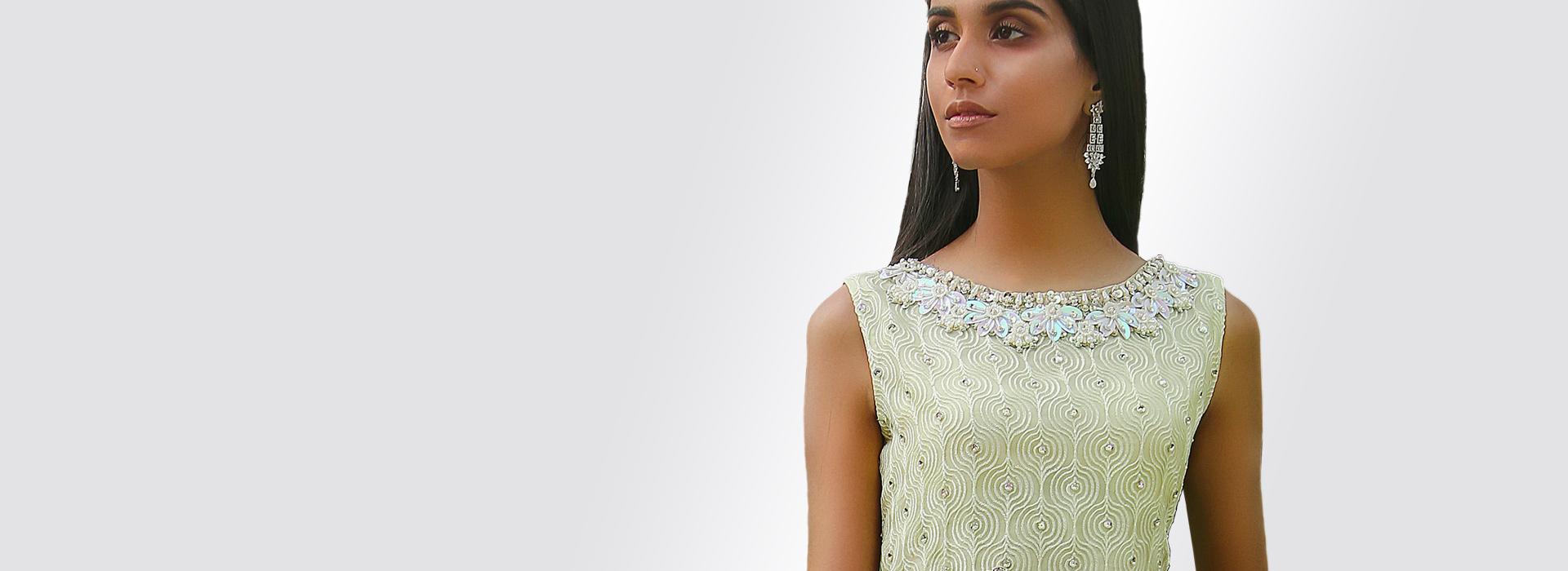 Hamza Anwar Luxury Pret Collection AW19 Bespoke chambeili.com