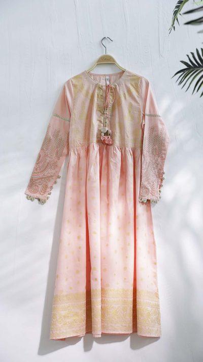 Ethnics Casual Shirt Pink WTC101196 SS20 - chambeili.com
