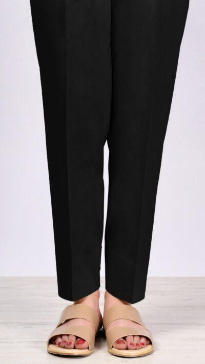 Limelight P2441 Black Cambric Narrow Trousers - chambeili.com