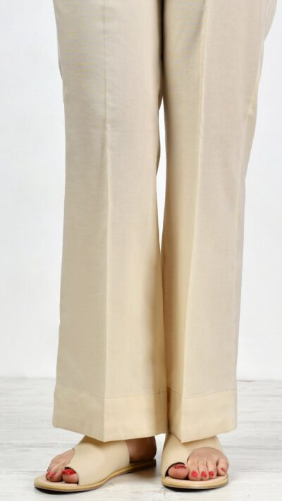 Limelight P2441 Skin Cambric Bootcut Trousers - chambeili.com