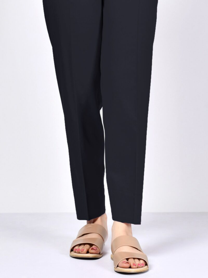 Limelight P6036TR Cambric Tapered Trousers Black EID 2021 Collection - chambeili.com